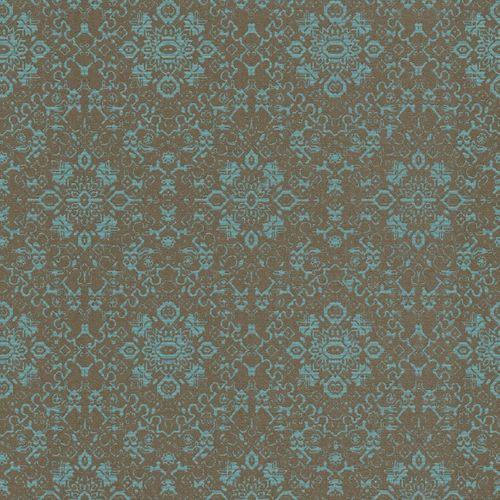 Vlies Tapete Ornament petrol Rasch Textil Palau 228938