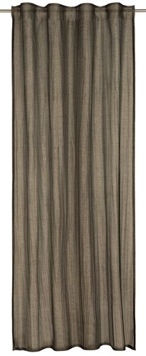 Barbara Becker Loop Curtain plain anthracite 135x255cm online kaufen