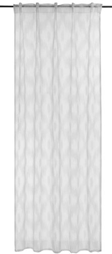 BARBARA Home Collection Loop Curtain ethno white 140x255cm online kaufen