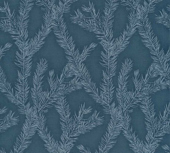 Vlies Tapete Zweige dunkelblau silber AS Creation 35898-5 online kaufen