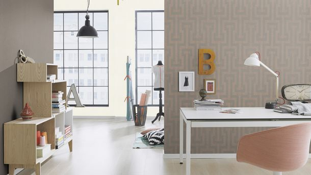 rasch vlies tapete glitter silber glitzer 523102. Black Bedroom Furniture Sets. Home Design Ideas