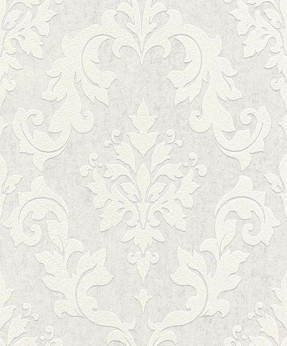 Paintable Wallpaper baroque pattern style Rasch 119107 online kaufen