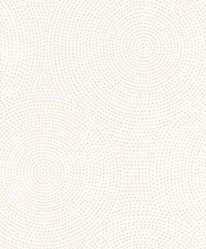 Paintable Wallpaper circle dot style Rasch 119701 online kaufen