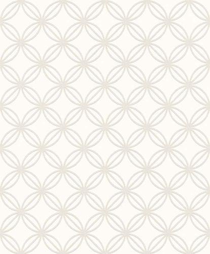 Paintable Wallpaper circle grid style Rasch 126020 online kaufen