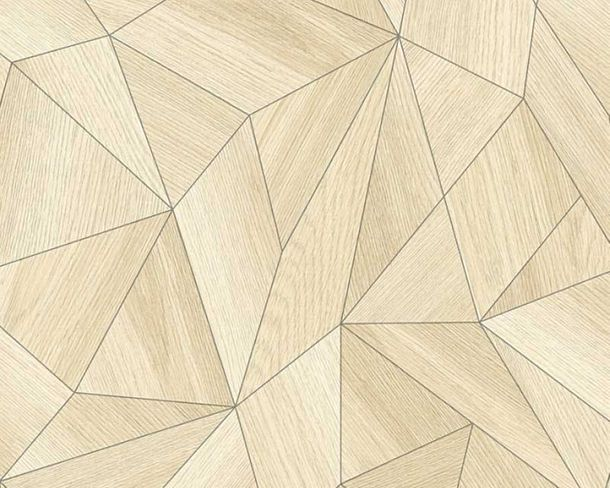 Tapete Vlies Daniel Hechter Grafik Dreieck 3D beige 36133-1 online kaufen