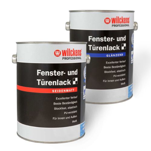 Profi Window & Door Varnish by Wilckens white 0,75 litre online kaufen