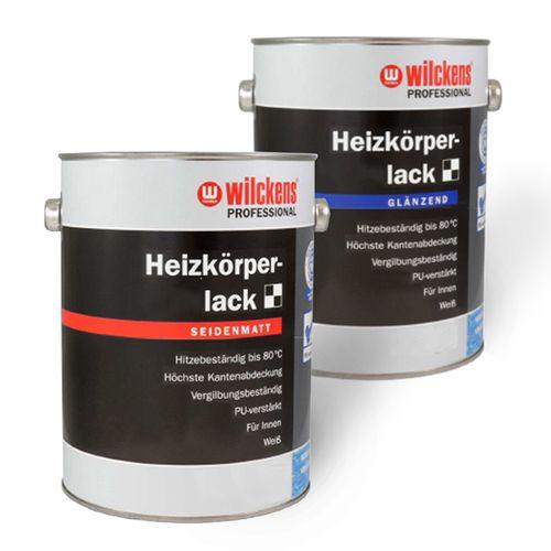 Profi Heizkörperlack Wilckens glänzend seidenmatt 0,75 Liter