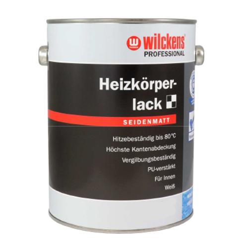 Profi Heizkörperlack Wilckens glänzend seidenmatt 2,5 Liter