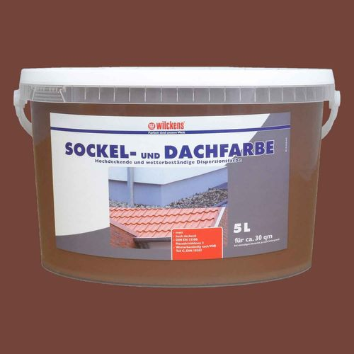 Foundation Roofing Paint by Wilckens 5 litre | 4 Colours