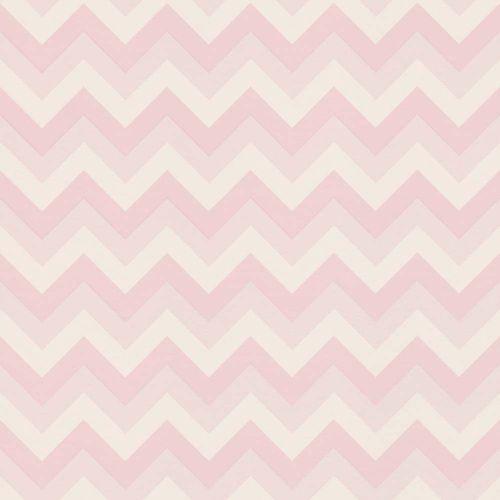 Wallpaper child zig zag pink white World Wide Walls 028857 online kaufen