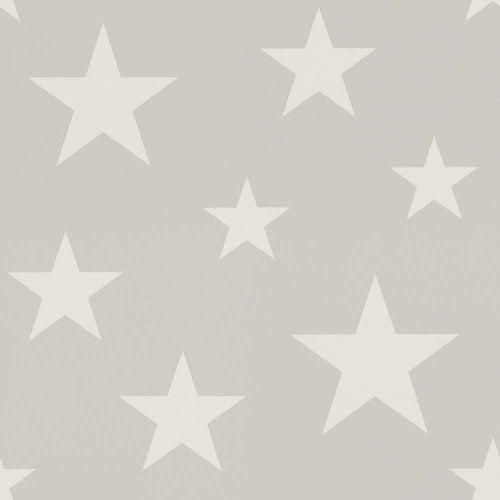 Wallpaper child Stars grey white Rasch Textil 128866 online kaufen