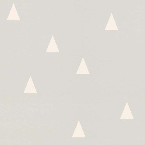 Vliestapete Kinder Dreiecke hellgrau weiß Rasch Textil 128867 online kaufen