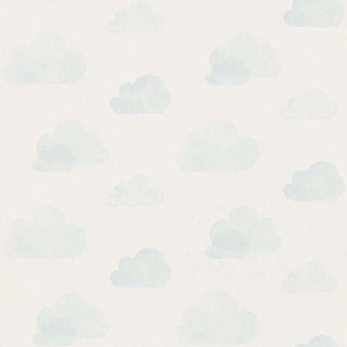 Vliestapete Kinder Wolken Himmel weiß hellblau 138930 online kaufen