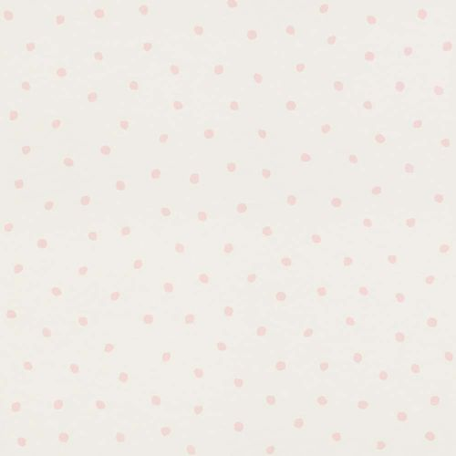 Wallpaper child Spots white pink Rasch Textil 138936