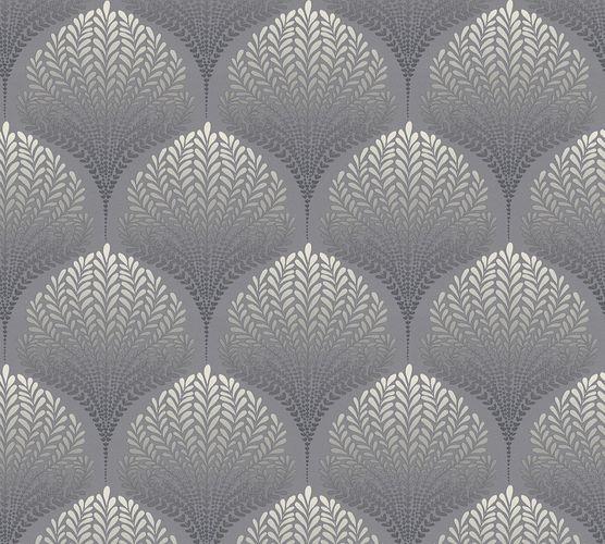 Vlies Tapete Blatt Natur Retro grau AS Creation 36310-1