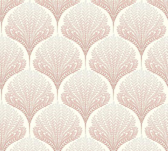 Vlies Tapete Blatt Natur Retro rosa AS Creation 36310-4