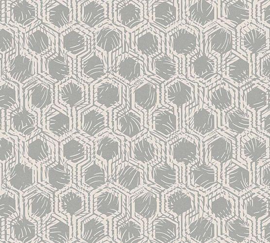 Vlies Tapete Grafik silber creme Architects Paper 33327-2 online kaufen