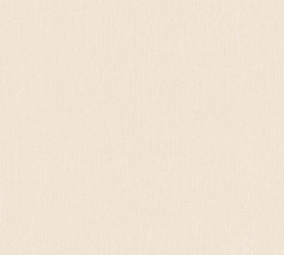 Non-Woven Wallpaper plain design streaky cream 33370-2