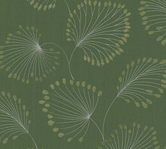 Vlies Tapete Blatt Natur grün gold Architects Paper 33371-1 online kaufen