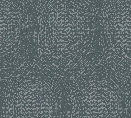 Vlies Tapete Abtrakt Kreis blau Glanz Architects Paper 33373-1