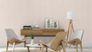 Room picture  Wallpaper non-woven plain textured cream Rasch Lazy Sunday 445206 3