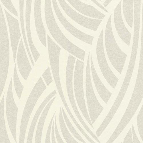 Wallpaper non-woven graphic silver white Rasch 524512 online kaufen