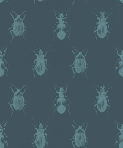 Wallpaper Insects Bugs dark blue Rasch Textil 289533 online kaufen