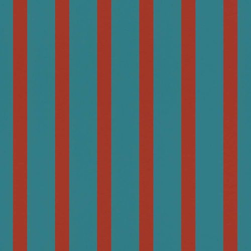 Wallpaper Striped turquoise red Rasch Textil 289748 online kaufen