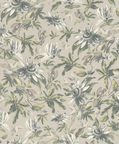 Wallpaper Flower Natural grey Rasch Textil 289793 online kaufen