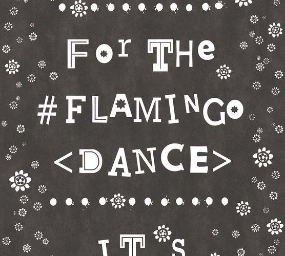 Vlies Tapete Flamingo Dance schwarz livingwalls 36293-1 online kaufen