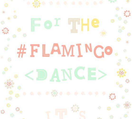 Vlies Tapete Flamingo Dance weiß grün livingwalls 36293-3 online kaufen