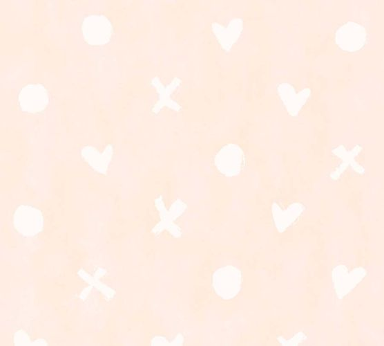 Vlies Tapete Herzen rosa weiß livingwalls 36294-4 online kaufen