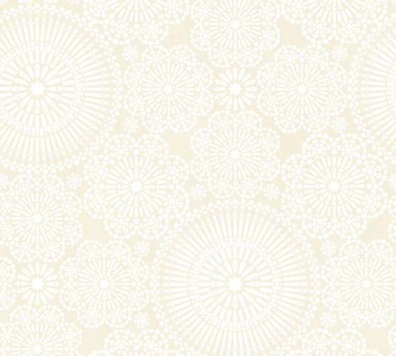 Vlies Tapete Mandala cremebeige livingwalls 36295-2 online kaufen