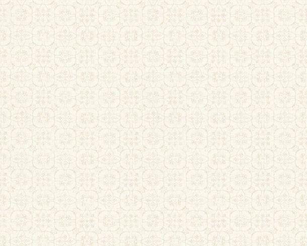 Vlies Tapete Blüten cremeweiß Hygge livingwalls 36383-4