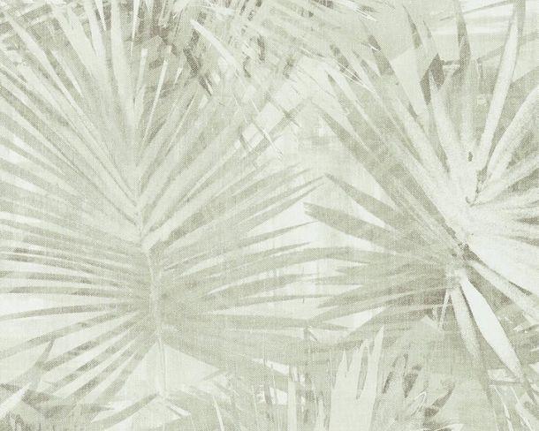 Vlies Tapete Palmenblatt grün Hygge livingwalls 6385-4 online kaufen