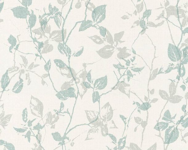 Wallpaper Non-Woven Leaves green livingwalls 36397-2 online kaufen