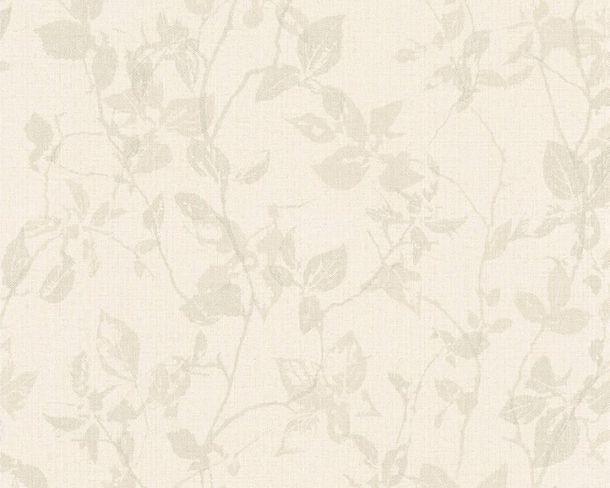Vlies Tapete Blätter baungrau Hygge livingwalls 36397-4 online kaufen