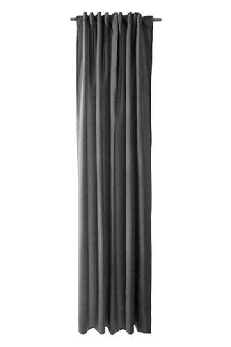Schlaufenschal Struktur Max blickdicht dunkelgrau 5070-30 online kaufen