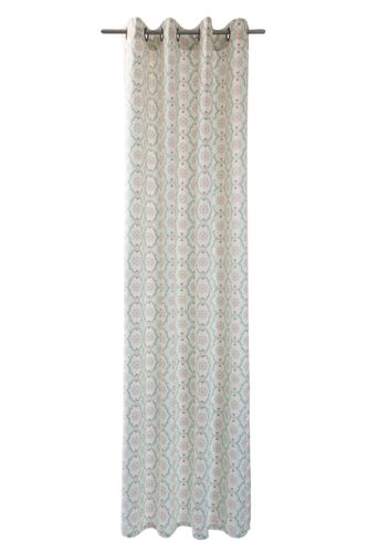 Eylet Drape Curtain Tiles Hanna non-transparent mint 5071-22 online kaufen