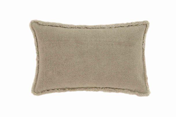 Kissenhülle Deko Cozz Uni Textil Jill sand 30x50cm 5065-07 online kaufen