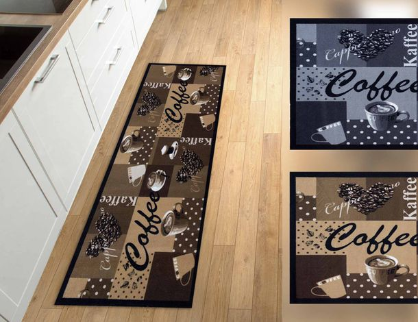 Kitchen Carpet Rug Runner Mat Cafe Coffee | non-slip online kaufen