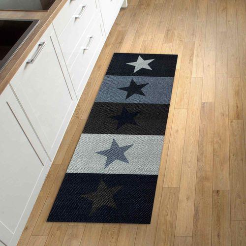 Kitchen Carpet Rug Runner Mat STARS Starlet   non-slip online kaufen