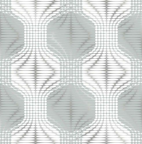 Wallpaper non-woven Graphical Silver Foil blue grey 022629 online kaufen