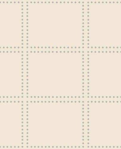 Wallpaper non-woven Squares cream gloss 022645 online kaufen