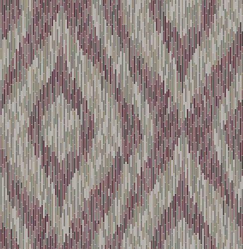 Wallpaper non-woven Boho purple mirrow 024218 online kaufen
