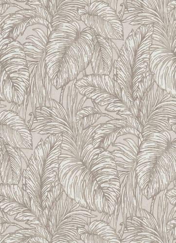 Vlies Tapete Dschungel Floral grau cremeweiß Erismann 5410-37 online kaufen