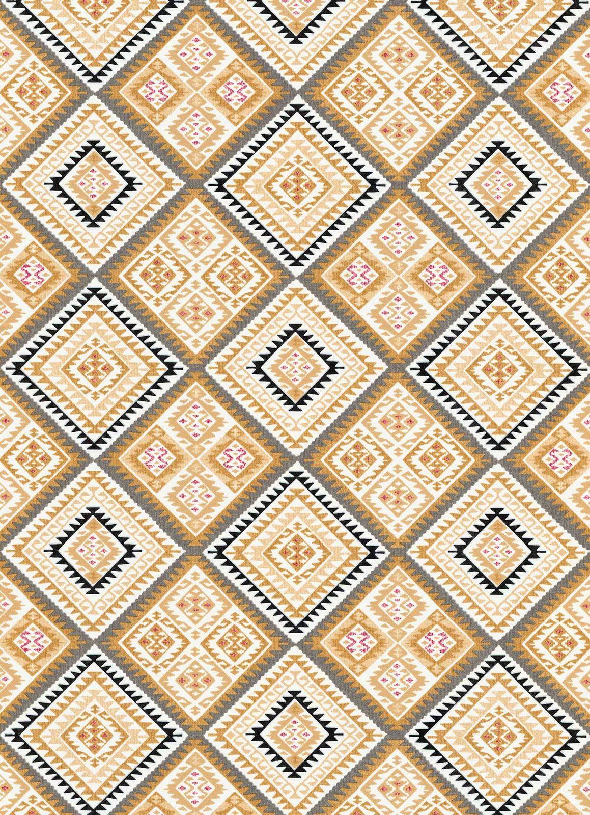 vlies tapete azteken design gelb wei grau erismann 5411 03. Black Bedroom Furniture Sets. Home Design Ideas