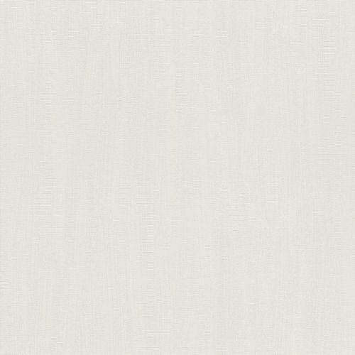 Vlies Tapete Struktur Einfarbig grauweiß Rasch 411867