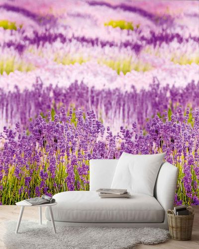 Digital Print Photo Wallpaper lavender floral | A35901 online kaufen