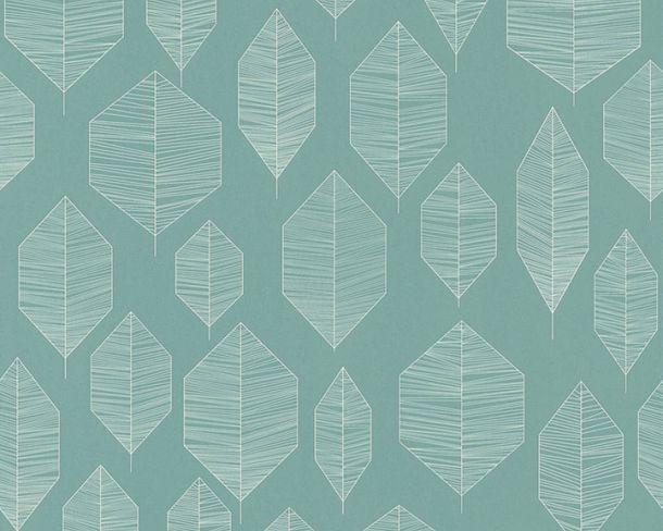 Non-Woven Wallpaper Floral green white livingwalls 36209-4 online kaufen
